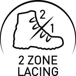 2 Zone Lacing